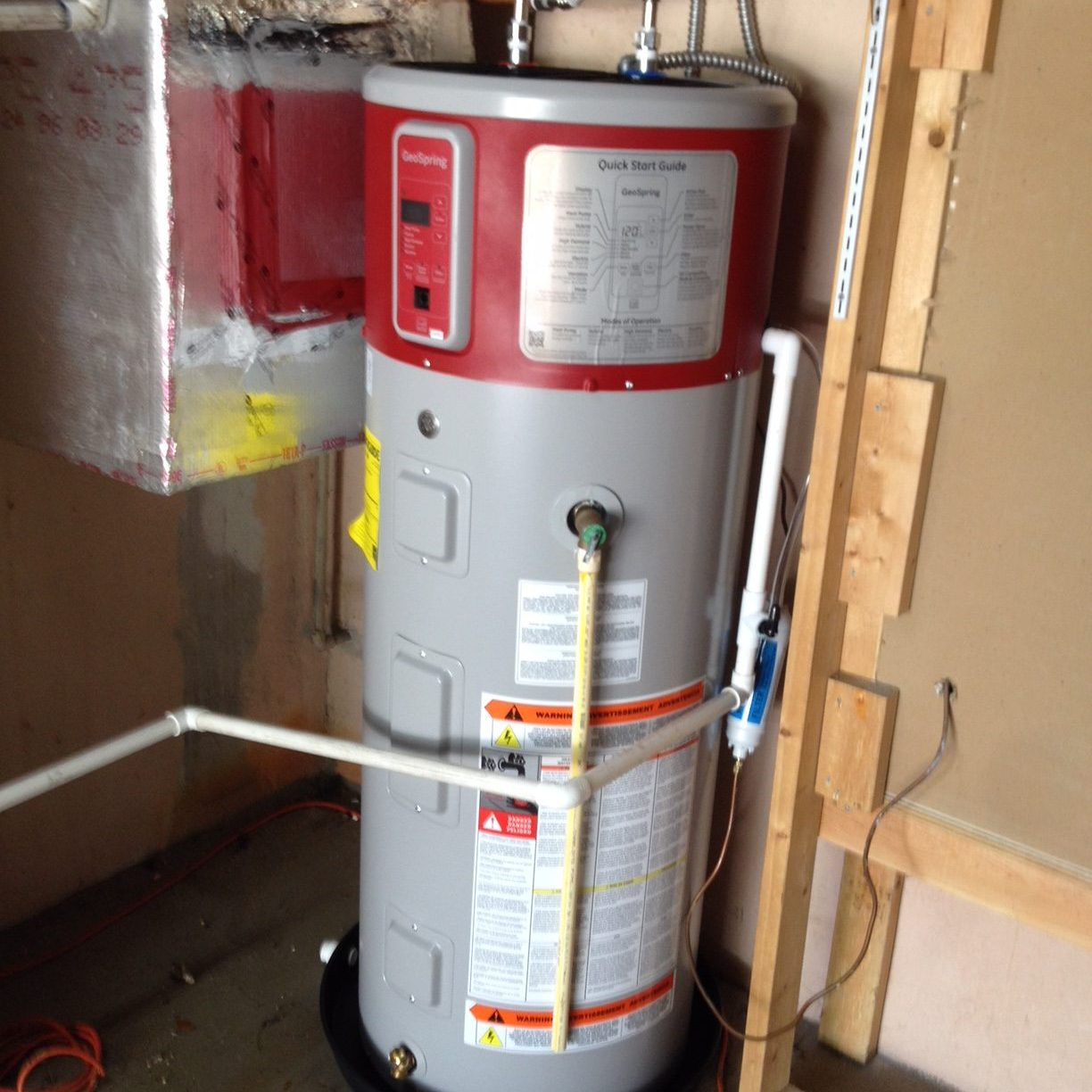 coral springs water heater installation